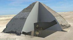 Pyramid interior
